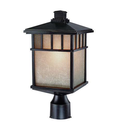 Dolan Designs Barton 1 Light Exterior Post Lantern in Winchester 9116-68 photo