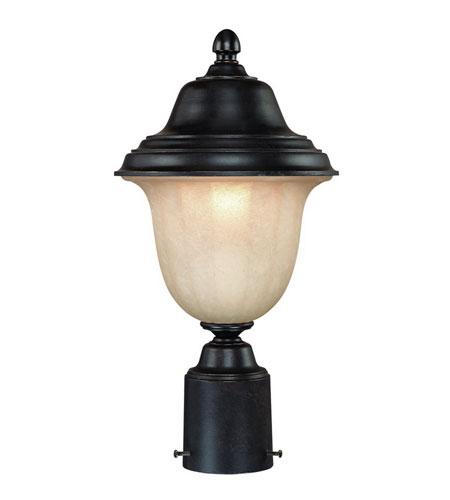 Dolan Designs Helena 1 Light Exterior Post Lantern in Winchester 9126-68 photo