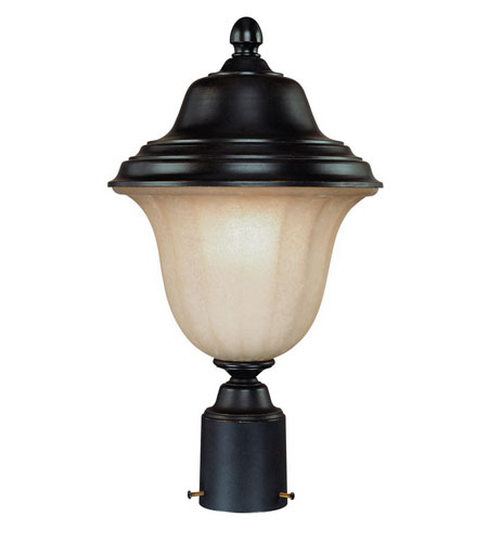 Dolan Designs Helena 1 Light Exterior Post Lantern in Winchester 9129-68 photo