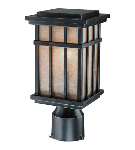 Dolan Designs 9141-68 Freeport 1 Light 12 inch Winchester Exterior Post Lantern photo