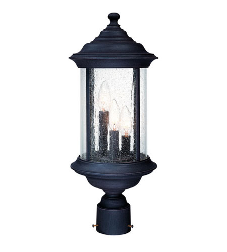 Dolan Designs Walnut Grove 3 Light Exterior Post Lantern in Rustique 918-53 photo