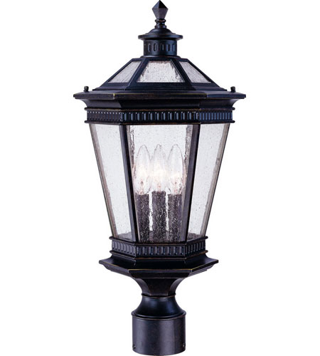 Dolan Designs 9197-68 Vintage 3 Light 21 inch Winchester Exterior Post Lantern photo