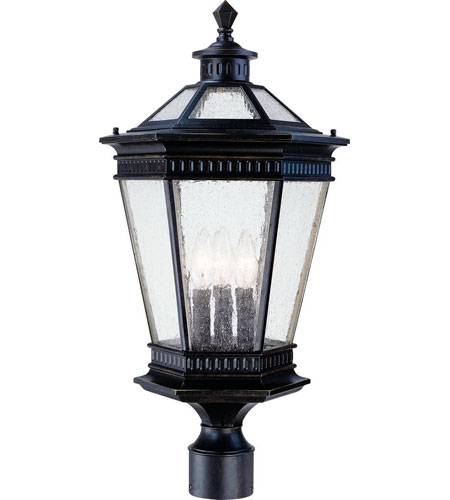 Dolan Designs 9199-68 Vintage 3 Light 24 inch Winchester Exterior Post Lantern photo