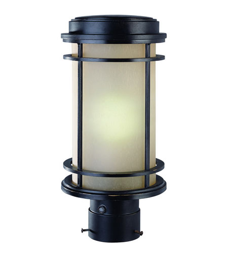 Dolan Designs La Mirage 1 Light Exterior Post Lantern in Winchester 9206-68 photo