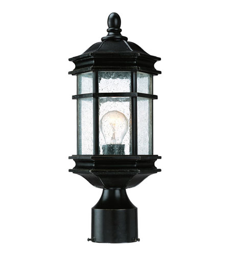 Dolan Designs 9233-68 Barlow 1 Light 15 inch Winchester Exterior Post Lantern photo