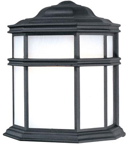 Dolan Designs Skyler 1 Light Exterior Wall Lantern in Black 945-50 photo