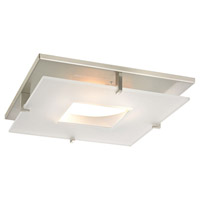 Recesso Satin Nickel Recessed Decorative Trim Ceiling Light