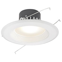 Dolan Designs Recesso LED Retrofit Module with 5 to 6-inch Baffle in White 10900-05