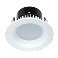 Dolan Designs Recesso LED Retrofit Module with 4-inch Baffle in White 10901-05