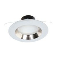 Dolan Designs Recesso LED Retrofit Module in White with 5 to 6-inch Reflector in Satin Nickel 10902-05