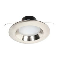 Dolan Designs Recesso LED Retrofit Module with 5 to 6-inch Reflector in Satin Nickel 10904-09