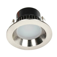 Recesso LED Satin Nickel LED Retrofit Module Ceiling Light