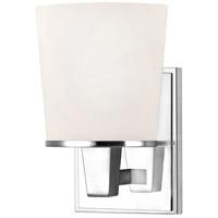 Dolan Designs 1096-26 Ellipse 1 Light 6 inch Chrome Wall Sconce Wall Light