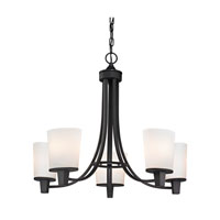 Dolan Designs Ellipse II 5 Light Chandelier in Bolivian 1098-78