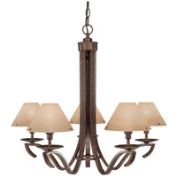 Easton 5 Light 27 inch Peruvian Chandelier Ceiling Light