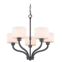 Dolan Designs 1260-46 Kalina 5 Light 26 inch Warm Bronze Chandelier Ceiling Light