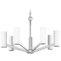 Radiance LED 25 inch Chrome Chandelier Ceiling Light, Single Tier