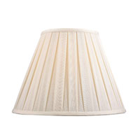 Dolan Designs Mix and Match Box Pleat Lamp Shade Only in White Linen 140131