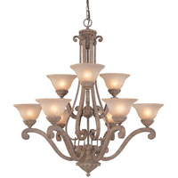 Dolan Designs Bay Harbor 9 Light Chandelier in Sonora 1542-55 photo thumbnail