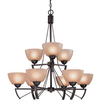 Dolan Designs Demarco 9 Light Chandelier In Antique Bronze 1592-20