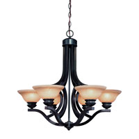 Dolan Designs Garrison 6 Light Chandelier in Antique Bronze 1600-20