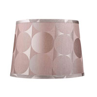 Mix and Match Silver 10 inch Lamp Shade
