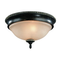 Hastings 2 Light 14 inch Phoenix Flushmount Ceiling Light