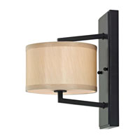 Dolan Designs Monaco 1 Light Wall Sconce in Ebony Bronze 1886-40