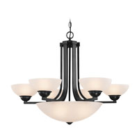 Dolan Designs Fireside 9 Light Chandelier in Bolivian 205-46