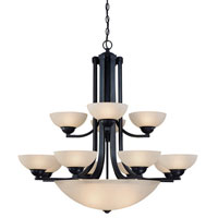 Fireside 15 Light 38 inch Bolivian Chandelier Ceiling Light in Carmelized