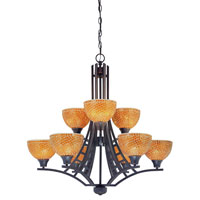 Dolan Designs Venicia 9 Light Chandelier in Bolivian 2072-78