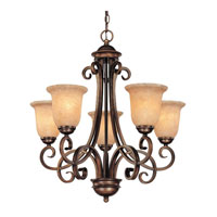 Medici 5 Light 26 inch English Bronze Chandelier Ceiling Light