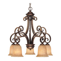 Dolan Designs Medici 5 Light Chandelier in English Bronze 2099-133