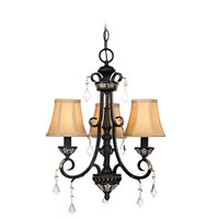Florence 3 Light 17 inch Phoenix Chandelier Ceiling Light