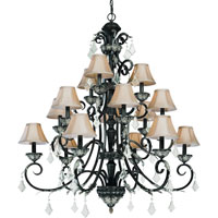 Florence 15 Light 44 inch Phoenix Chandelier Ceiling Light