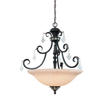 Florence 3 Light 28 inch Phoenix Pendant Ceiling Light