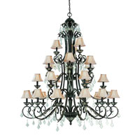 Florence 27 Light 59 inch Phoenix Chandelier Ceiling Light