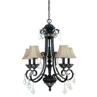Florence 5 Light 26 inch Phoenix Mini Chandelier Ceiling Light