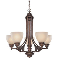 Broughton 5 Light 28 inch Sienna Chandelier Ceiling Light