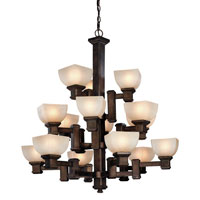Dolan Designs Belltown 15 Light Chandelier in Sienna 2373-90