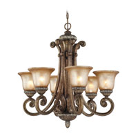 Dolan Designs 2400-162 Carlyle 6 Light 28 inch Verona Chandelier Ceiling Light