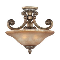 Dolan Designs Carlyle 2 Light Semi-Flush Mount in Verona 2405-162