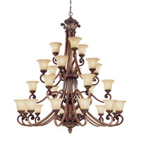 Dolan Designs Carlyle 27 Light Chandelier in Canyon Clay 2409-54