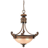 Dolan Designs Fairview 3 Light Pendant in Canyon Clay 2454-54