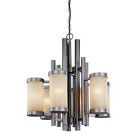 Dolan Designs 2620-66 Cortona 6 Light 25 inch Vista Chandelier Ceiling Light