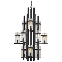 Cortona 12 Light 29 inch Cumberland Bronze Chandelier Ceiling Light, 3 Tier