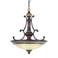 Dolan Designs Bonita 3 Light Pendant in Yuma 2644-211