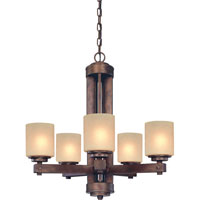 Sherwood 5 Light 27 inch Sienna Chandelier Ceiling Light