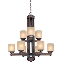 Dolan Designs Sherwood 9 Light Chandelier in Sienna 2702-90 photo thumbnail