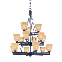 Dolan Designs Olympic 15 Light Chandelier in Bolivian 2713-78